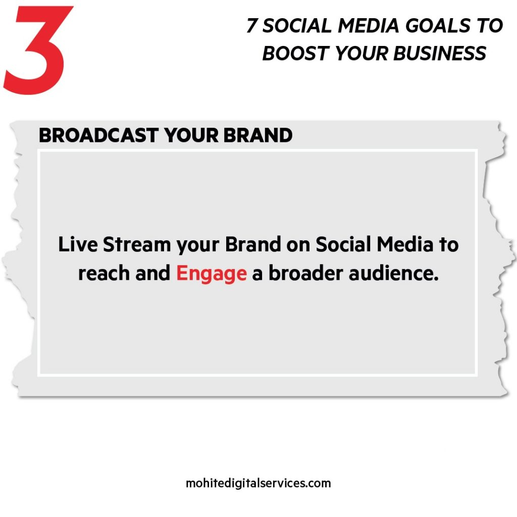 Broadcast your Brand